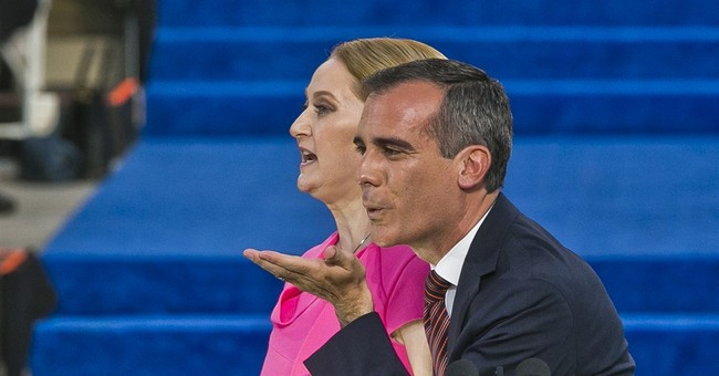 Los Angeles Mayor Eric Garcetti sworn in for second term