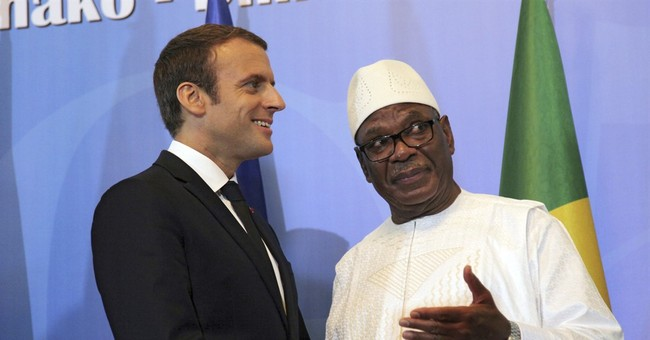 French president vows support in Africa anti-extremist fight