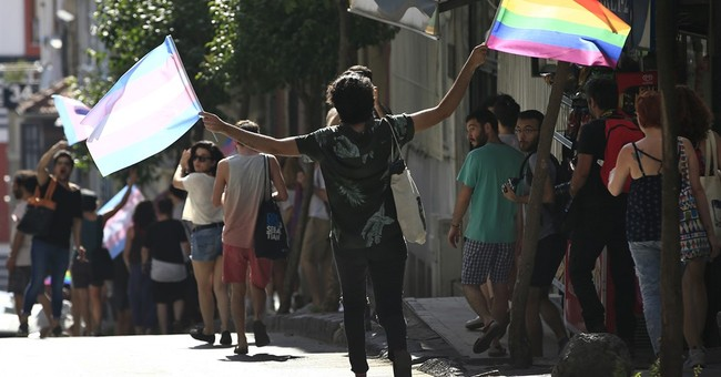 Turkish police chase away transgender marchers in Istanbul