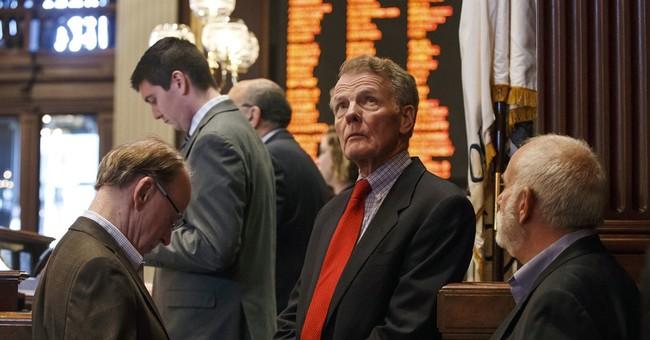 The Latest: Illinois Senate takes no action on budget