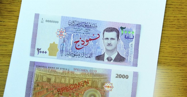 Syrian President Bashar Assad will be face of new bank note