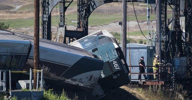 Amtrak train derailed on special section of track