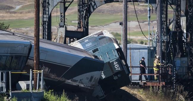 The Latest: Washington rail line operating after derailment