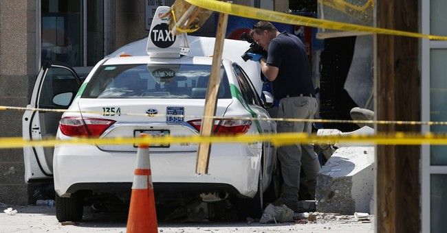 The Latest: Police say no charges filed in Boston taxi crash