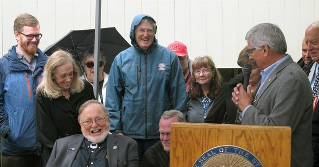 Statue of Seward unveiled across from Alaska Capitol