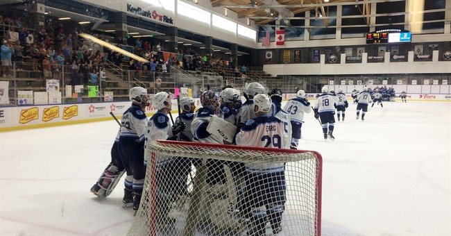 On Day 11, hockey players break record for longest game