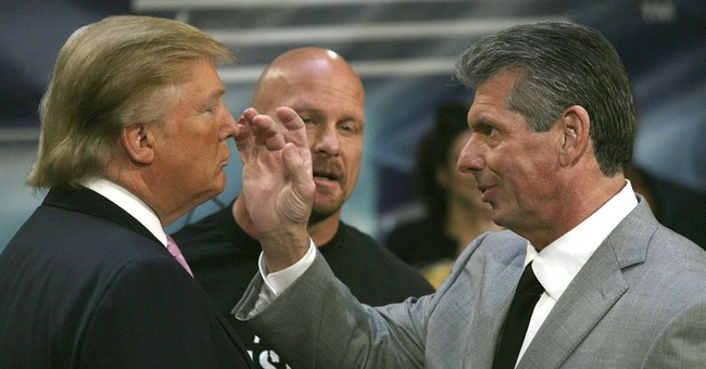 Smackdown! Trump's insult act comes from pro wrestling hype