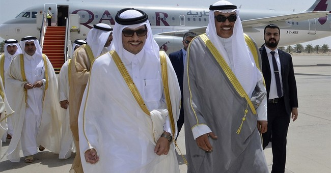 The Latest: China says Arabs and Qatar should solve crisis