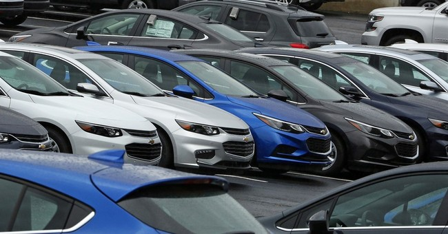 Auto sales fall 6 straight months, stay near record levels