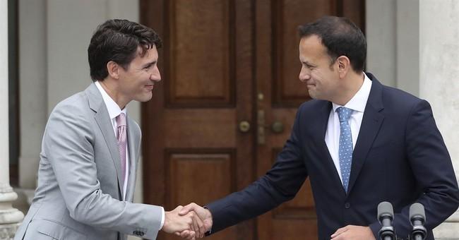 Trudeau: Trump, Brexit mean new chances for Canada, Ireland
