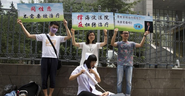 Man wins lawsuit in China over forced gay conversion therapy