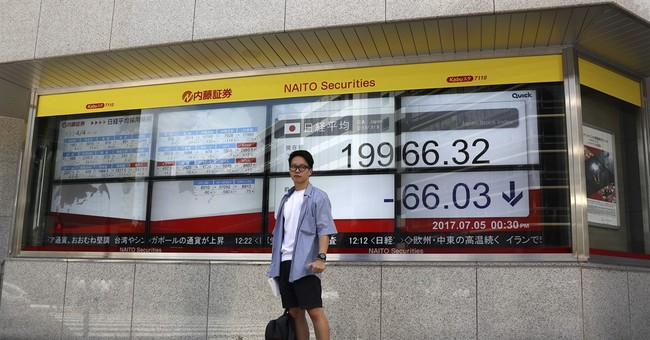 Global shares mostly higher, shrugging off NKorea concerns