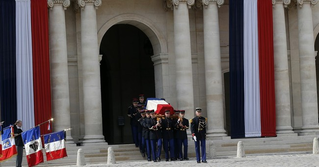 France: Europe-themed homage for Holocaust survivor Veil