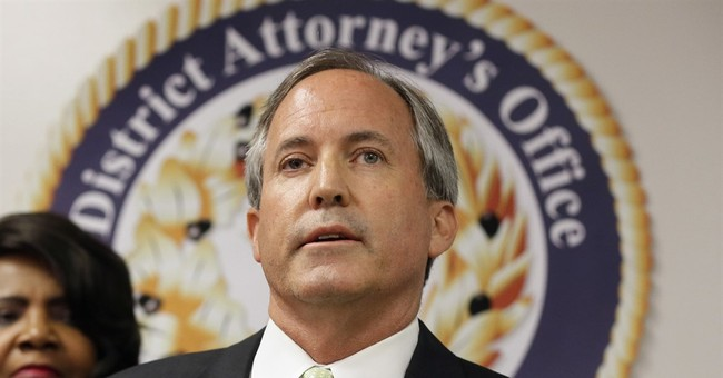 Texas attorney general's donors include conservative group