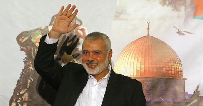 Hamas' new top leader delivers first speech in Gaza City