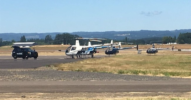 Police identify man Oregon man who tried to seize helicopter