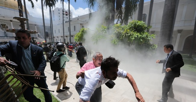 Govt supporters storm Venezuela congress, injuring lawmakers