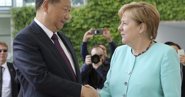 Chinese president meeting Merkel, visiting pandas in Berlin