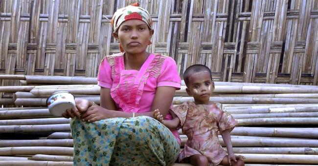 In Myanmar, one girl's plight epitomizes Rohingya struggle