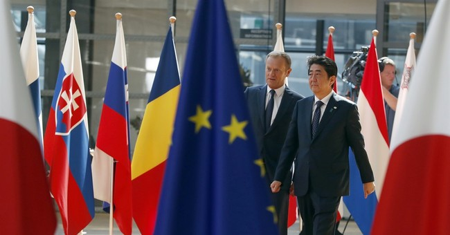 """EU, Japan hail free trade deal: """"A message to the world"""""""