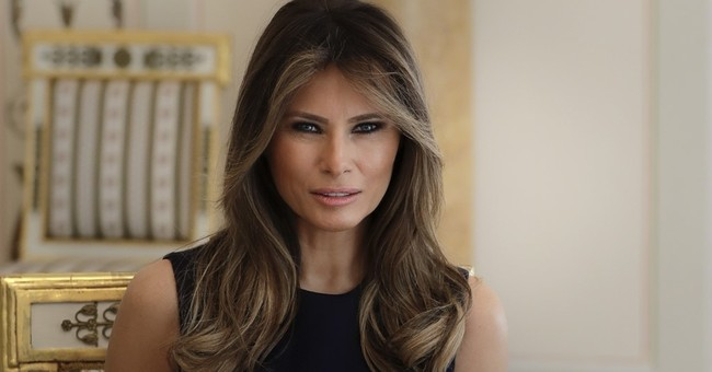 First lady introduces Trump, visits science center in Warsaw