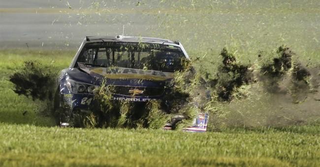 Elliott blames himself for latest crash during break in Indy
