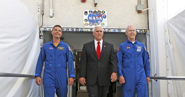 Vice president gets insider look at Kennedy Space Center