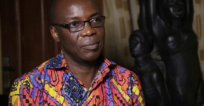 Nigerian political cartoonist takes aim at ailing leader