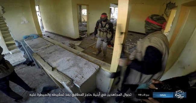 IS claims attack in Egypt's Sinai that killed 23 soldiers