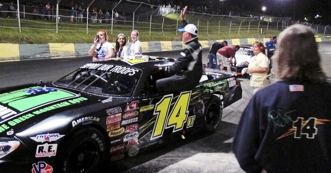 A man of many talents: Vermont governor wins stock car race