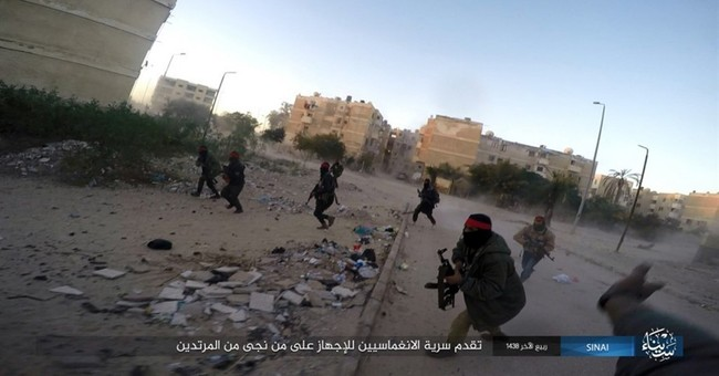 The Latest: IS group in Egypt claims deadly Sinai attack