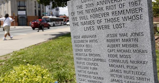 Newark riots recall an era echoed by Black Lives Matter