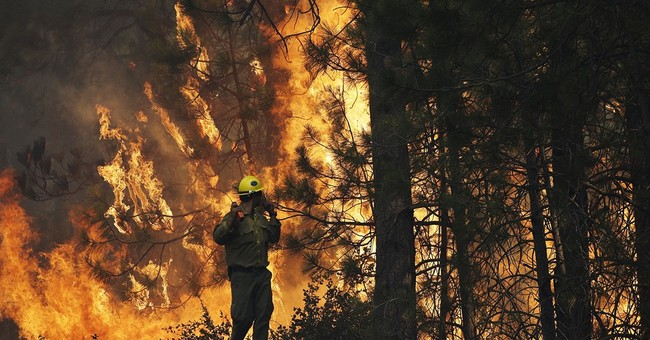 Fiery rhetoric from California to feds over $18M fire debt