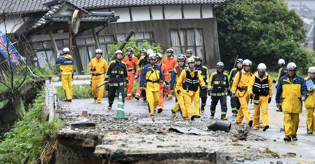 Floods in Japan kill 7; search for missing slowed by mud