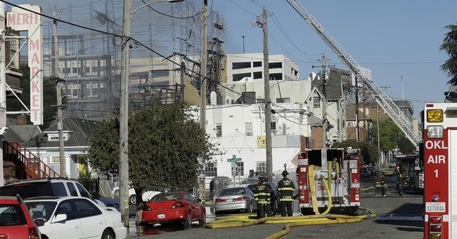 Fire at construction site deepens housing crisis in Oakland
