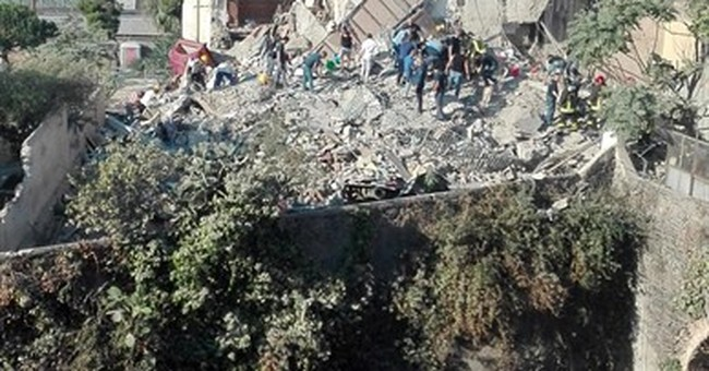 Apartment building collapses in Italy; 2 dead confirmed