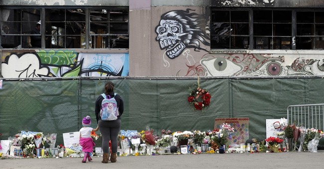 2 men charged in fatal Oakland warehouse fire to enter pleas