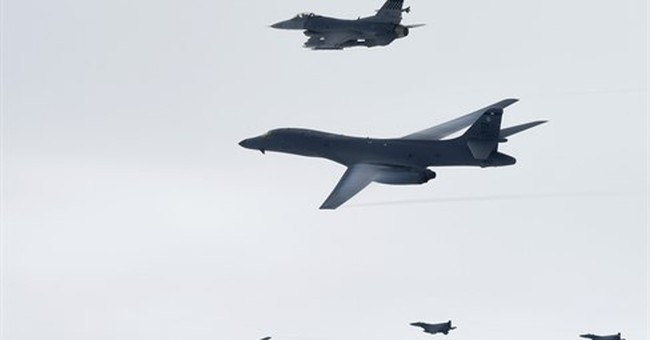 North Korea calls US practice bombing run a provocation