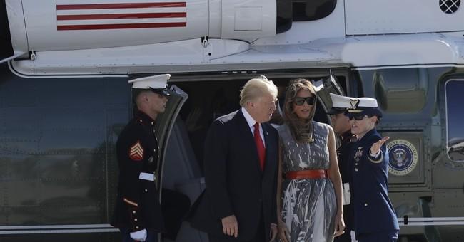 AP FACT CHECK: Trump on the 'blazing' economy, Russia, NATO