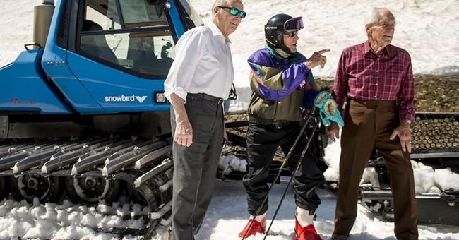 Utah man celebrates 100th birthday by hitting the slopes