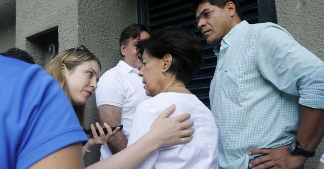 The Latest: Venezuela president supports opponent's release