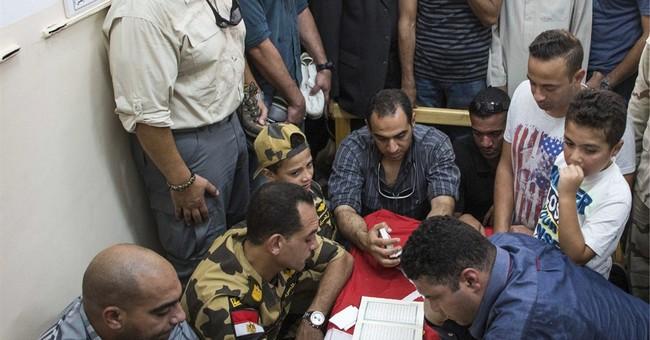 Roadside bomb kills 2 police in Egypt's Sinai