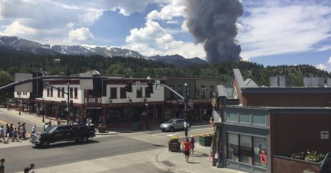 Wildfire evacuation orders lifted in Colorado, Montana