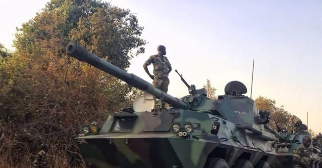 Regional troops enter Gambia in effort to get Jammeh to go