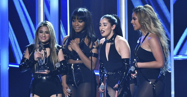 Fifth Harmony makes quartet debut at People's Choice