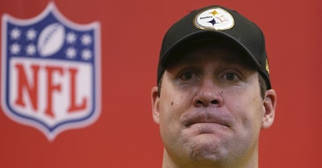"""Roethlisberger hoping to play up to Brady's """"gold standard"""""""