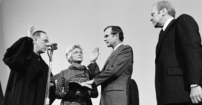 AP PHOTOS: Long-married Bushes hospitalized together