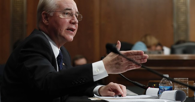 Company that HHS pick invested in faced criminal penalty