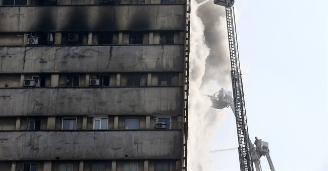 Iran shocked by deadly fire, collapse of Tehran high-rise