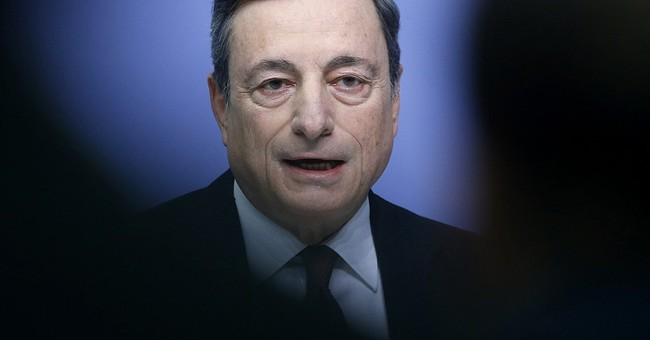 The Latest: ECB says nowhere near withdrawing stimulus